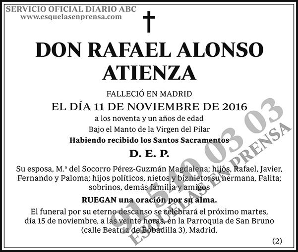 Rafael Alonso Atienza
